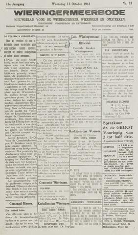 Wieringermeerbode 1944-10-18