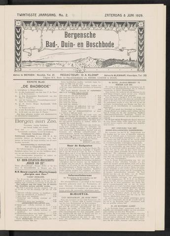 Bergensche bad-, duin- en boschbode 1929-06-08