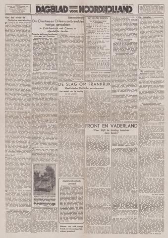 Dagblad Noord-Holland, Schager editie 1944-08-18