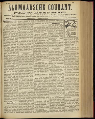 Alkmaarsche Courant 1928-09-24