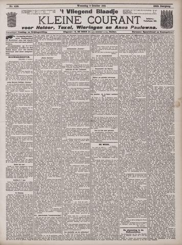 Vliegend blaadje : nieuws- en advertentiebode voor Den Helder 1912-10-09