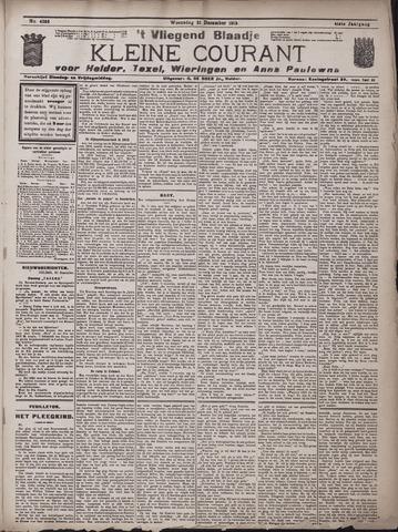 Vliegend blaadje : nieuws- en advertentiebode voor Den Helder 1913-12-31