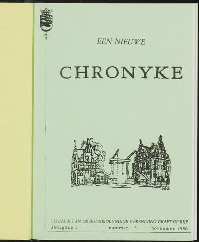 Een Nieuwe Chronyke van het Schermereiland 1986-11-01