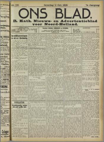Ons Blad : katholiek nieuwsblad voor N-H 1913-10-11