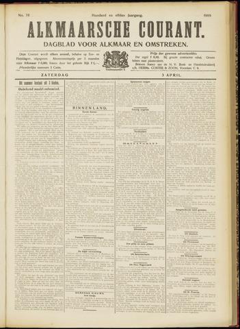 Alkmaarsche Courant 1909-04-03