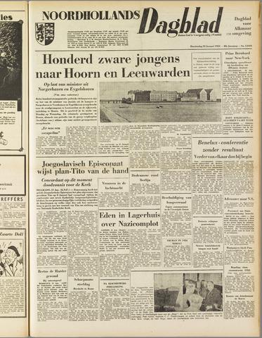 Noordhollands Dagblad : dagblad voor Alkmaar en omgeving 1953-01-22