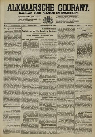 Alkmaarsche Courant 1937-03-30