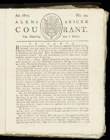 Alkmaarsche Courant 1809-03-06
