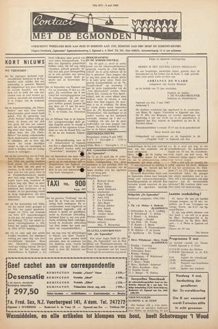 Contact met de Egmonden 1965-05-06