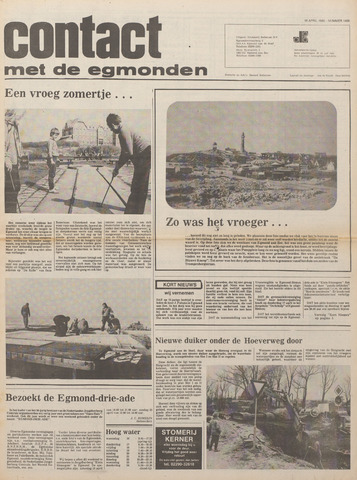 Contact met de Egmonden 1980-04-16