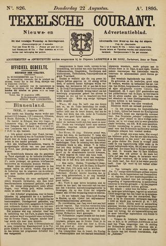 Texelsche Courant 1895-08-22