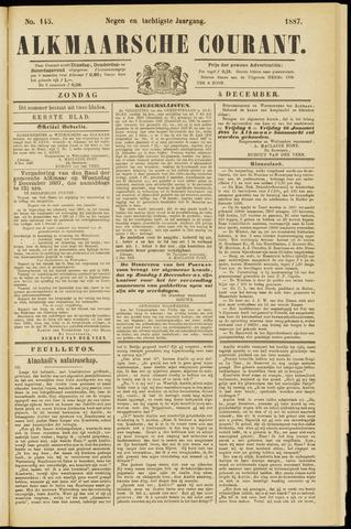 Alkmaarsche Courant 1887-12-04