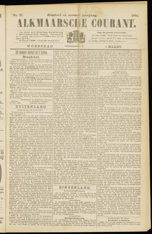Alkmaarsche Courant 1905-03-01