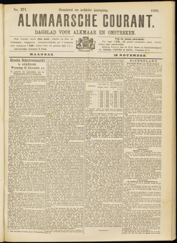 Alkmaarsche Courant 1906-11-19