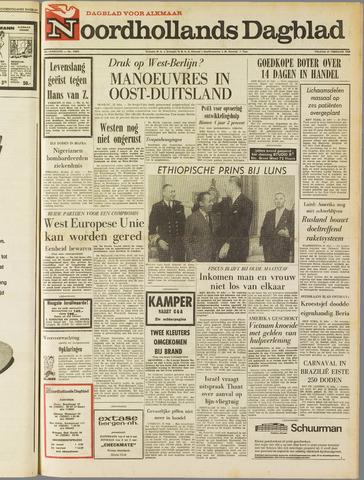 Noordhollands Dagblad : dagblad voor Alkmaar en omgeving 1969-02-21