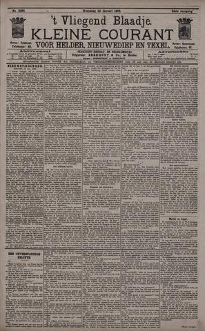 Vliegend blaadje : nieuws- en advertentiebode voor Den Helder 1896-01-22