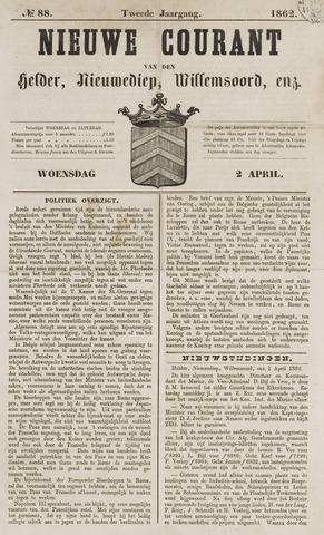 Nieuwe Courant van Den Helder 1862-04-02