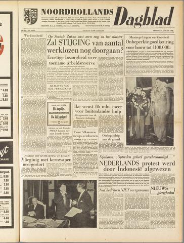 Noordhollands Dagblad : dagblad voor Alkmaar en omgeving 1958-01-14