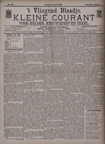 Vliegend blaadje : nieuws- en advertentiebode voor Den Helder 1886-04-10