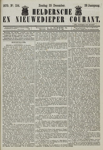 Heldersche en Nieuwedieper Courant 1870-12-25