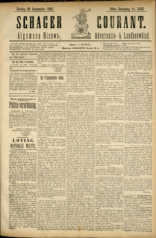 Schager Courant 1895-09-29