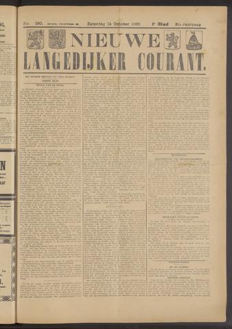Nieuwe Langedijker Courant 1922-10-14