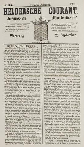 Heldersche Courant 1872-09-25