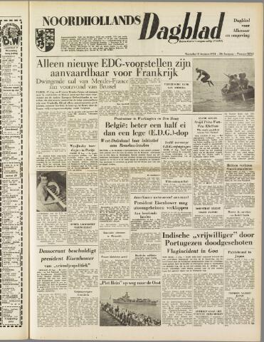 Noordhollands Dagblad : dagblad voor Alkmaar en omgeving 1954-08-18