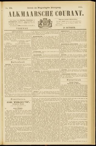 Alkmaarsche Courant 1895-10-18