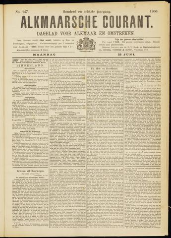 Alkmaarsche Courant 1906-06-25
