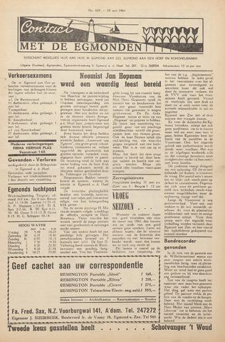 Contact met de Egmonden 1964-05-28
