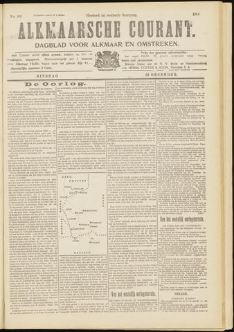 Alkmaarsche Courant 1914-12-22