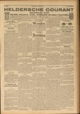 Heldersche Courant 1924-04-22