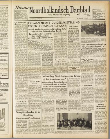Nieuw Noordhollandsch Dagblad : voor Alkmaar en omgeving 1947-03-13