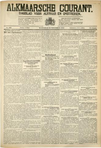 Alkmaarsche Courant 1930-11-12