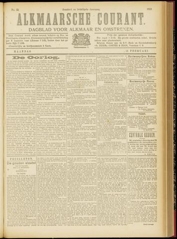 Alkmaarsche Courant 1918-02-11