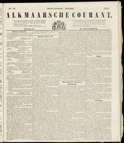 Alkmaarsche Courant 1871-12-24
