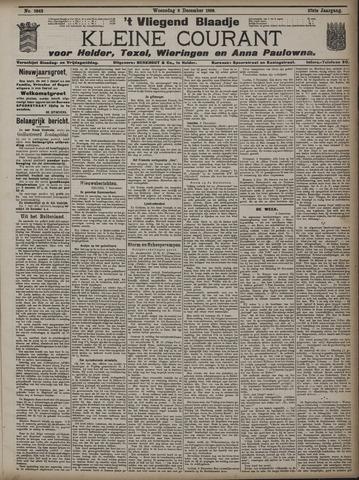 Vliegend blaadje : nieuws- en advertentiebode voor Den Helder 1909-12-08