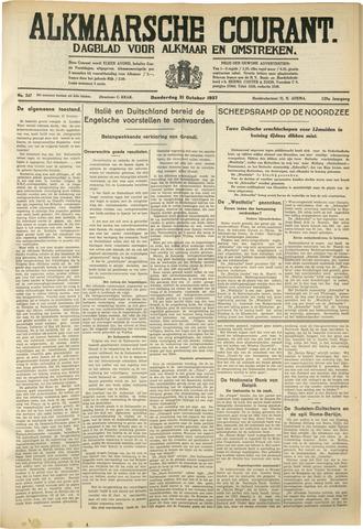 Alkmaarsche Courant 1937-10-21