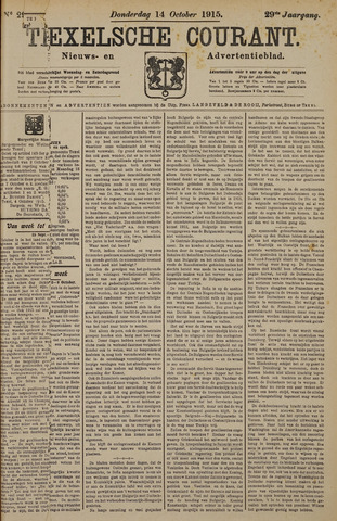 Texelsche Courant 1915-10-14