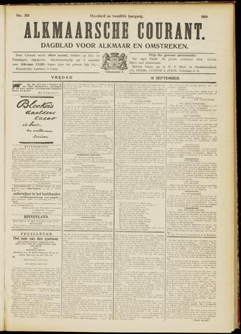 Alkmaarsche Courant 1910-09-16