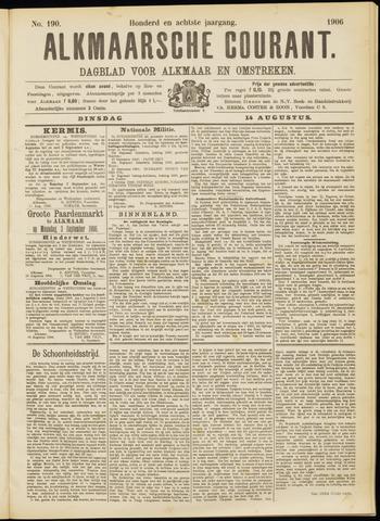 Alkmaarsche Courant 1906-08-14