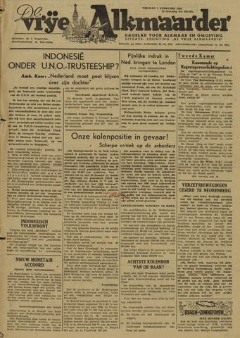 De Vrije Alkmaarder 1946-02-01