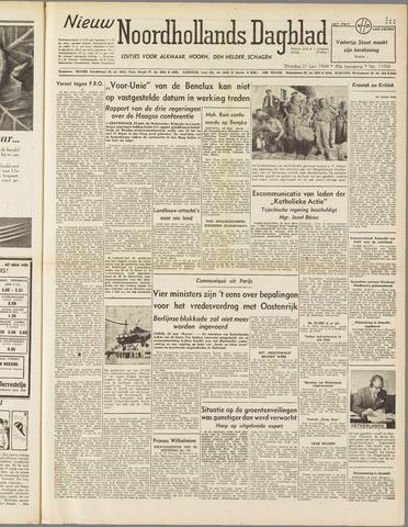 Nieuw Noordhollandsch Dagblad : voor Alkmaar en omgeving 1949-06-21