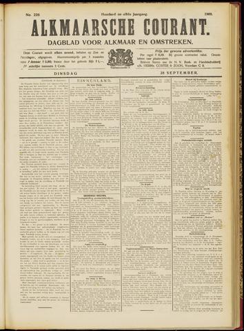 Alkmaarsche Courant 1909-09-28