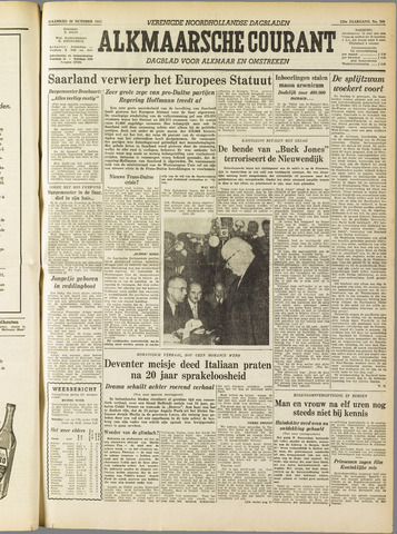 Alkmaarsche Courant 1955-10-24