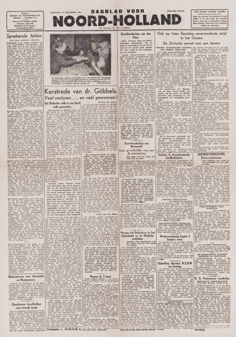 Dagblad Noord-Holland, Schager editie 1943-12-27