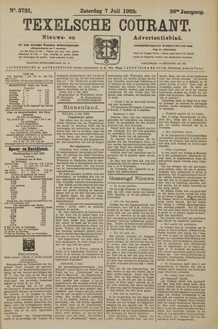 Texelsche Courant 1923-07-07
