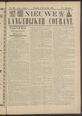 Nieuwe Langedijker Courant 1922-11-21