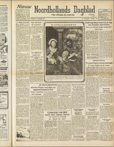 Nieuw Noordhollandsch Dagblad : voor Alkmaar en omgeving 1947-12-24